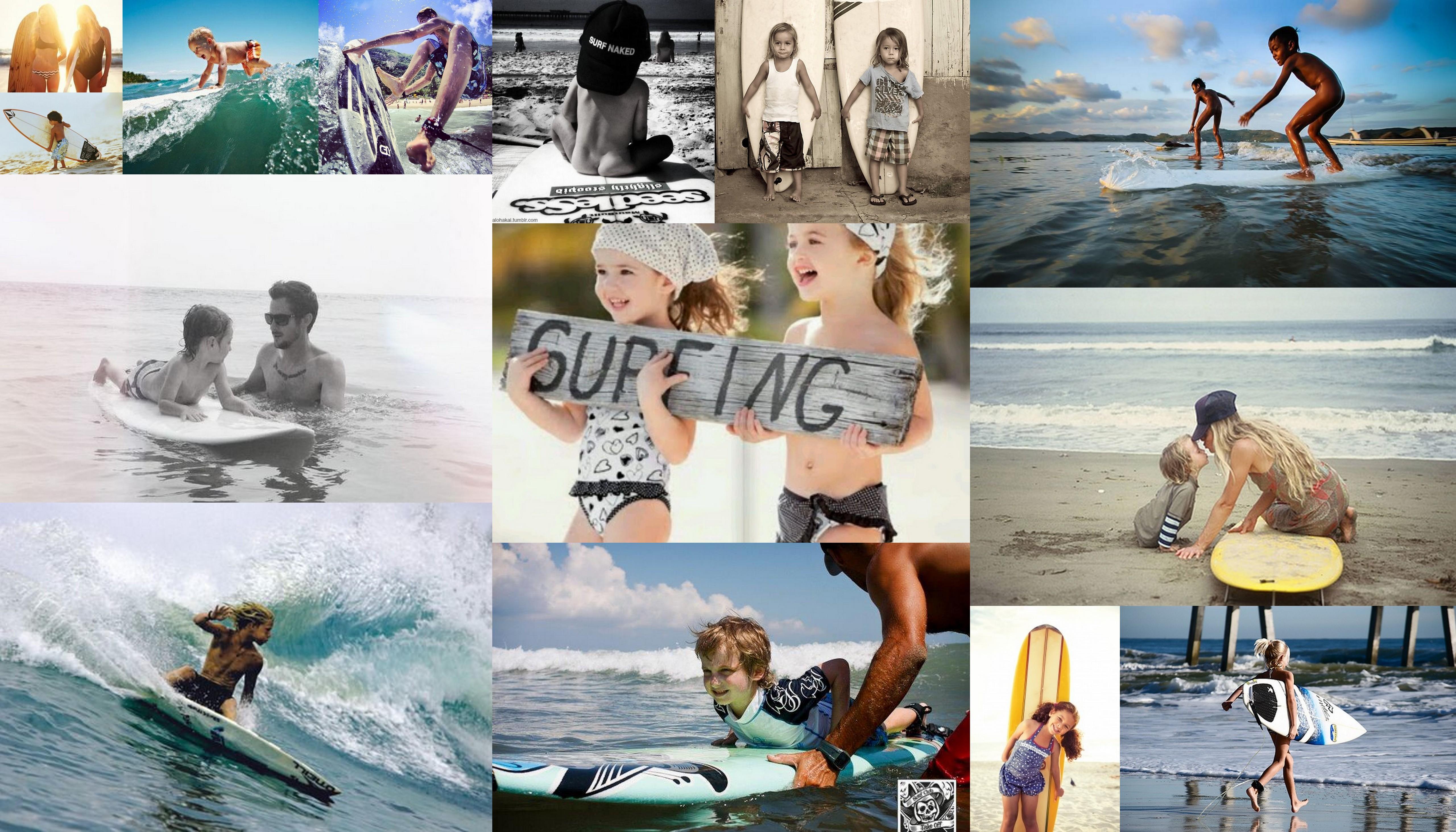 Серфинг и дети